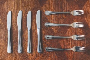 How to Pack Silverware